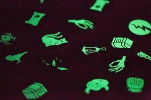 Leuchtmemo Zappenduster Kinderspiel