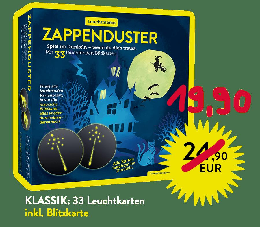 Achtsamkeitsspiel, Halloween-Party, Alexander Kranz-Mars, Spieleautor, Zappenduster-Leuchtmemo-Zauberer-kinderspiel-kindergeschenk-familienspiel kaufen